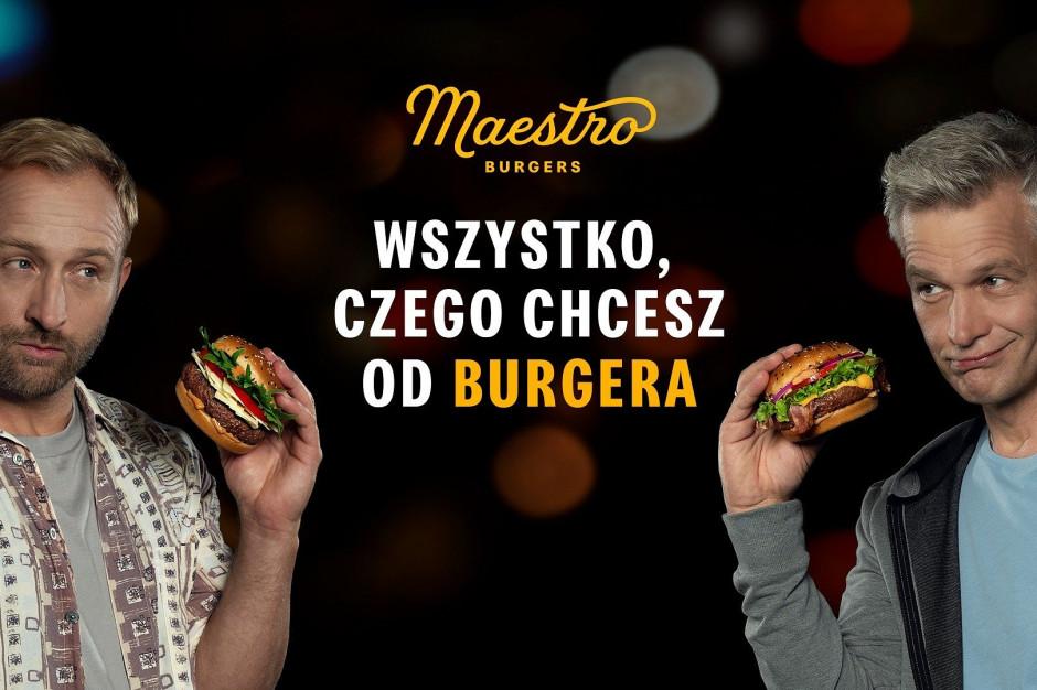 Szyc i Żebrowski w spocie burgerów Maestro z McDonald's