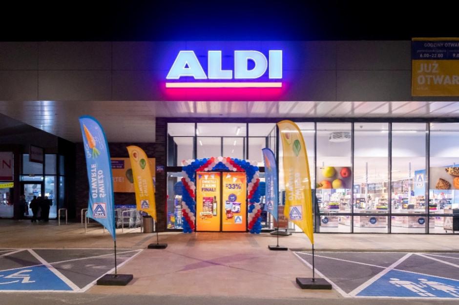 Aldi otwiera pięć sklepów