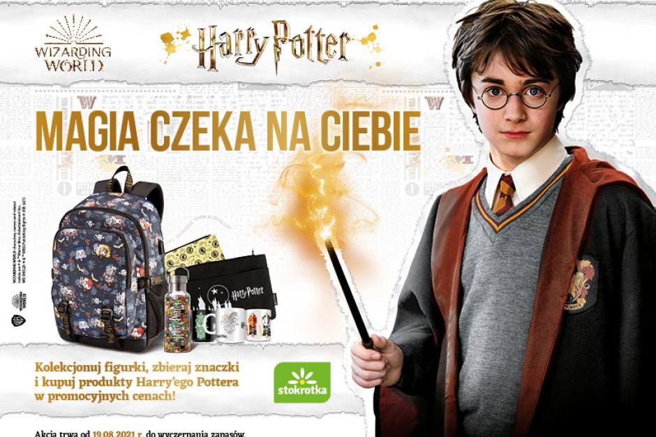 Harry Potter zachęca do zakupów w Stokrotce