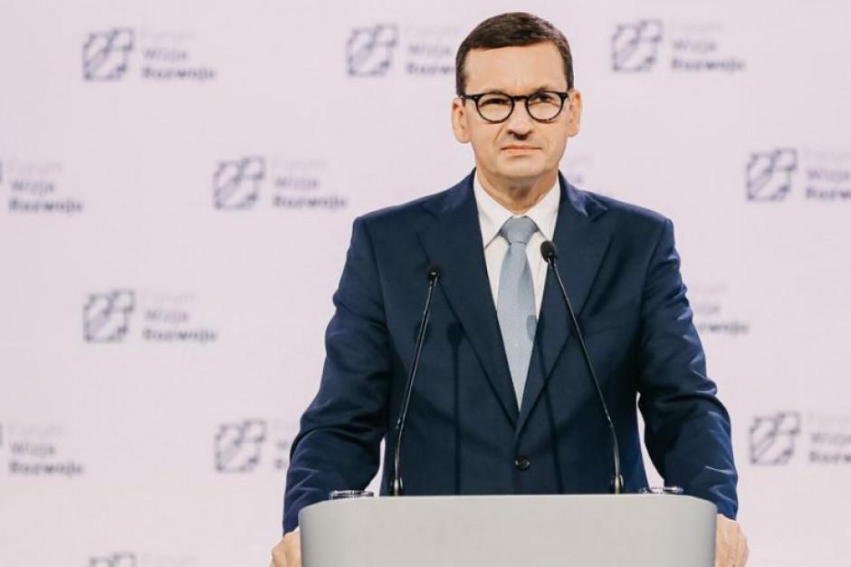 Morawiecki: wzrost wynagrodzeń szybszy niż wzrost cen to założenie Polskiego Ładu