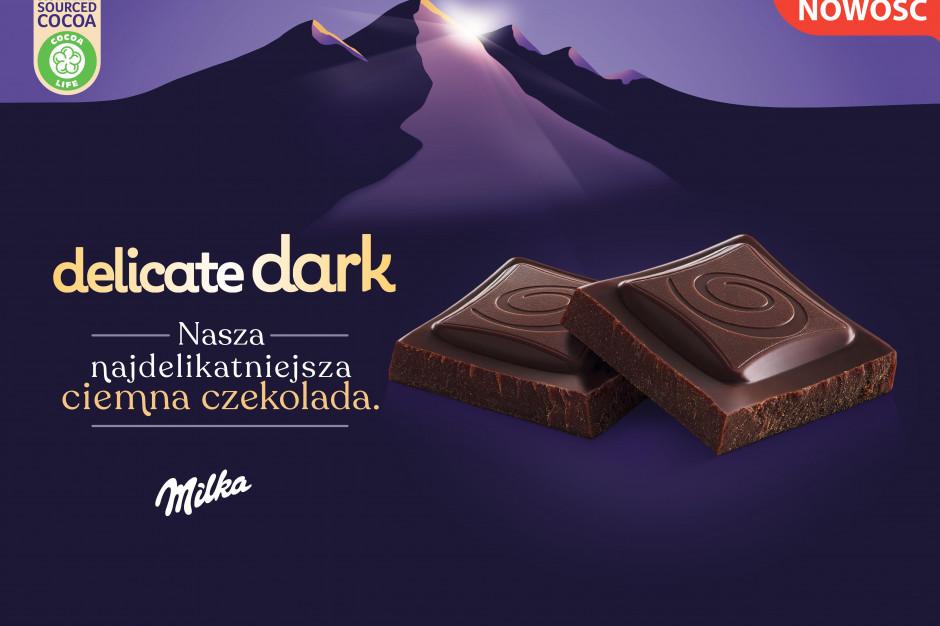 Milka Delicate Dark - nowość od Mondelez