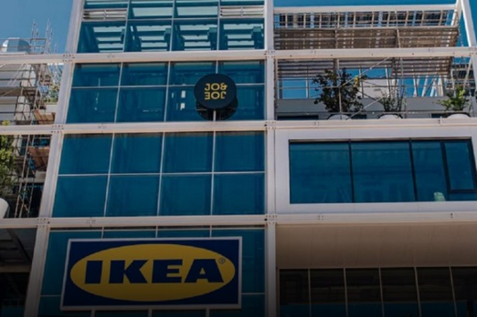 IKEA otworzyła sklep bez parkingu, ale z hostelem