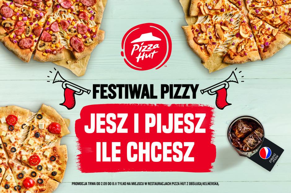 Festiwal Pizzy wraca do Pizza Hut. Jedzenie bez limitów od 32,99 zł za osobę