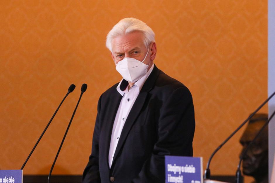 Horban: Nie ma powodu do lockdownu