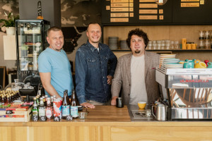 Zarząd spółki Coffeedesk, fot. materiały prasowe