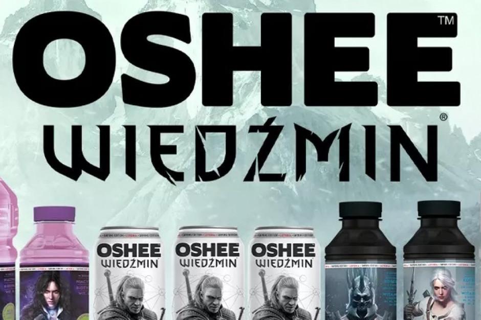 OSHEE wprowadza limitowaną serię napojów sygnowanych marką Wiedźmin