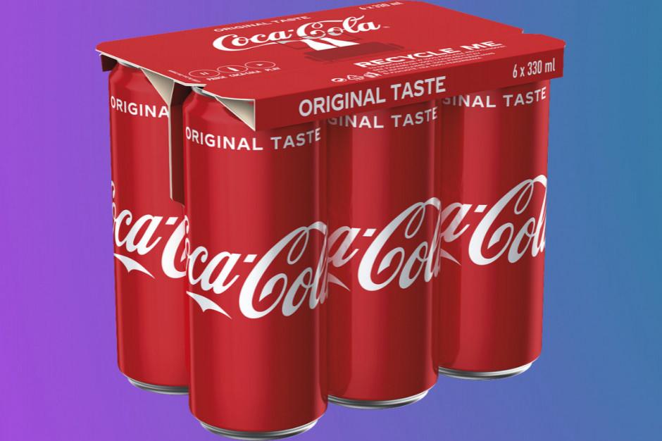 Coca-Cola kończy z folią, zastąpi ją papier