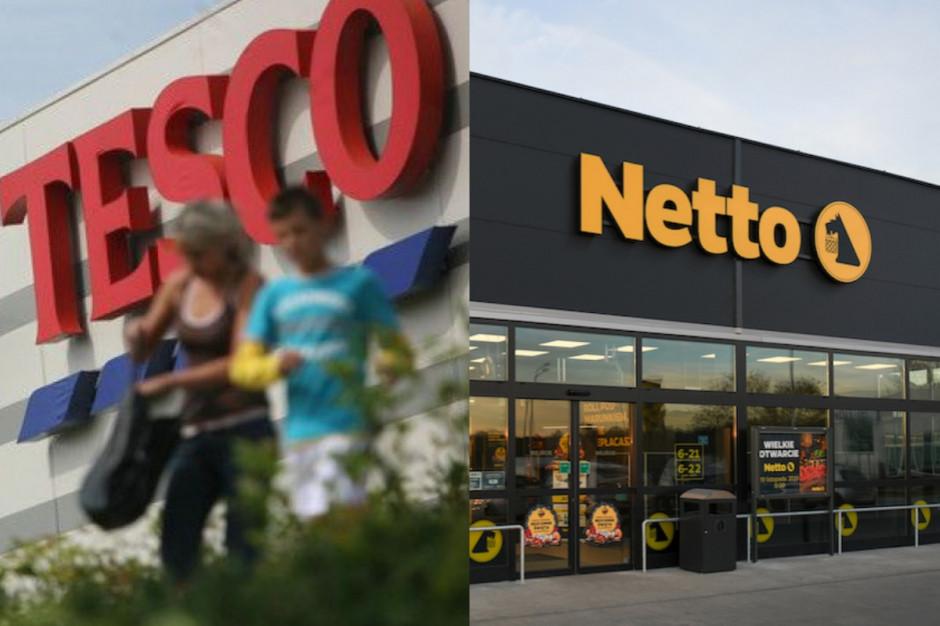 Netto przyspiesza konwersję sklepów przejętych od Tesco