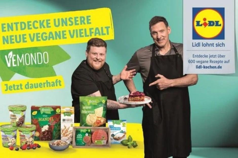 Lidl w Niemczech z kampanią dla wegan