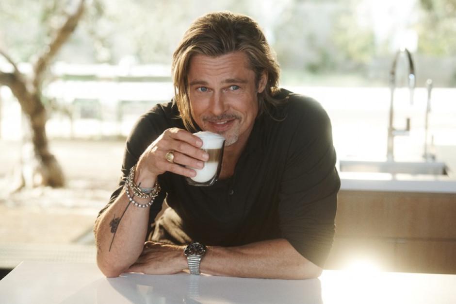 Brad Pitt  w nowej kampanii De'Longhi