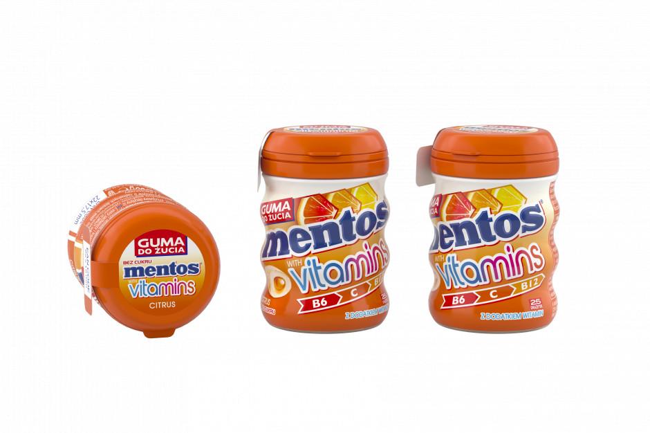 Gumy do żucia z witaminami od Mentos