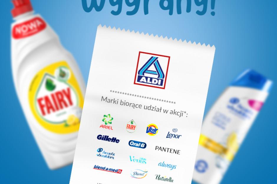 """ALDI wspólnie z Proctel&Gamble startuje z akcją """"Kupujesz zyskujesz"""""""
