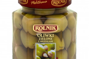 Oliwki zielone z migdałami od firmy Rolnik
