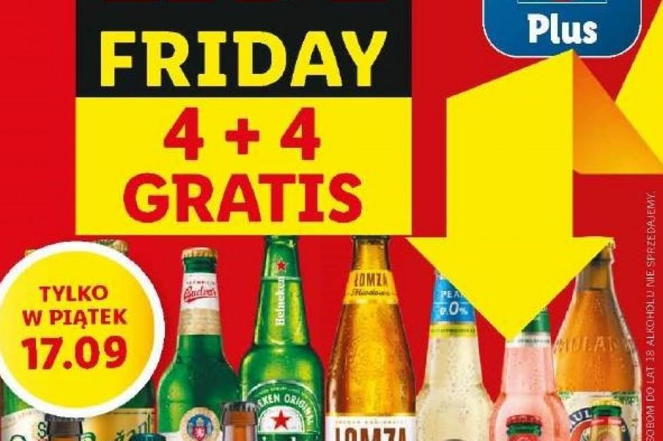 Piwna promocja 4+4 gratis wraca do Lidl