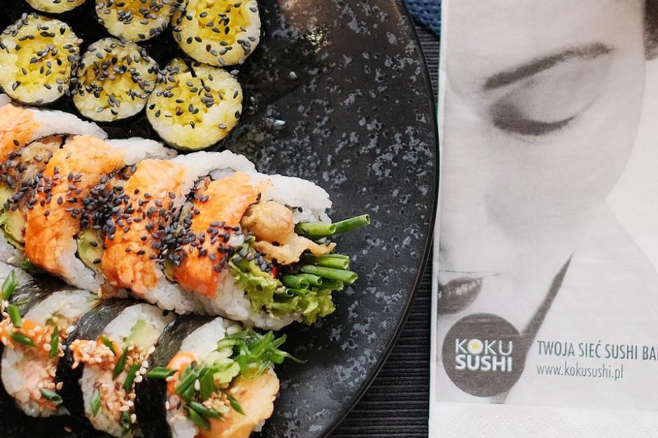 Koku Sushi uruchomi kilkanaście nowych lokali
