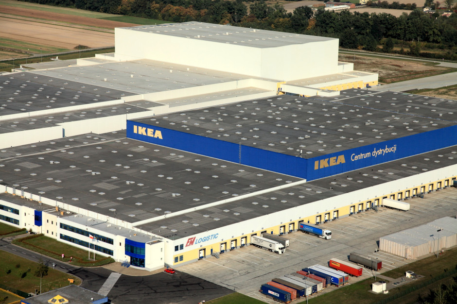 Centrum Dystrybucji IKEA w Jarostach obsługuje sklepy w 12 krajach