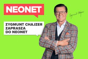 Zygmunt Chajzer w kampanii Neonet, fot. mat. pras.