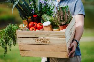 Pora na Pola to spożywczy e-commerce, który dostarcza produkty od 90 rolników i wytwórców żywności rzemieślniczej do e-klientów. Fot. materiały prasowe