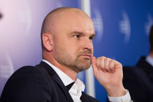 Na zdj. Rafał Brzoska, prezes InPost. Fot. PTWP