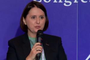 """Anna Grabowska: ESG to jest dzisiejsze """"must have"""" dla biznesu, na co szczególnie kładą nacisk młodzi ludzie fot. portalspozywczy.pl"""