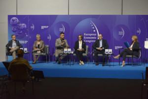 Debata zatytułowana Rynek franczyzy w Polsce, która odbyła się 22 września w ramach XIII Europejskiego Kongresu Gospodarczego EEC 2021. fot. PTWP