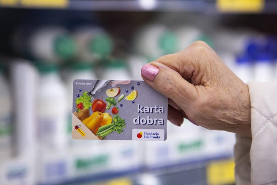 Fundacja Biedronki przekaże karty na zakupy