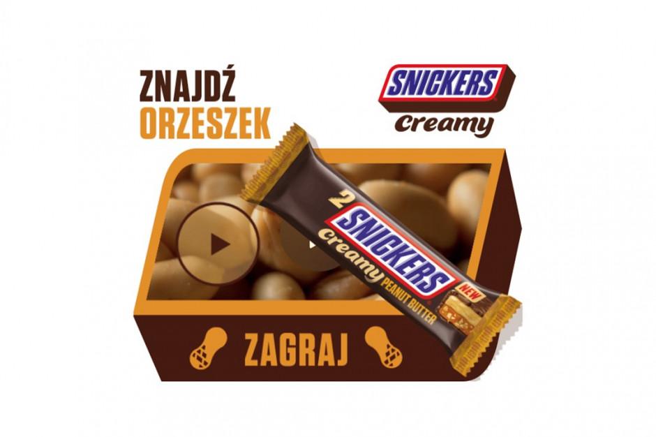 Gra wspiera nowość Snickersa - Creamy Peanut Butter