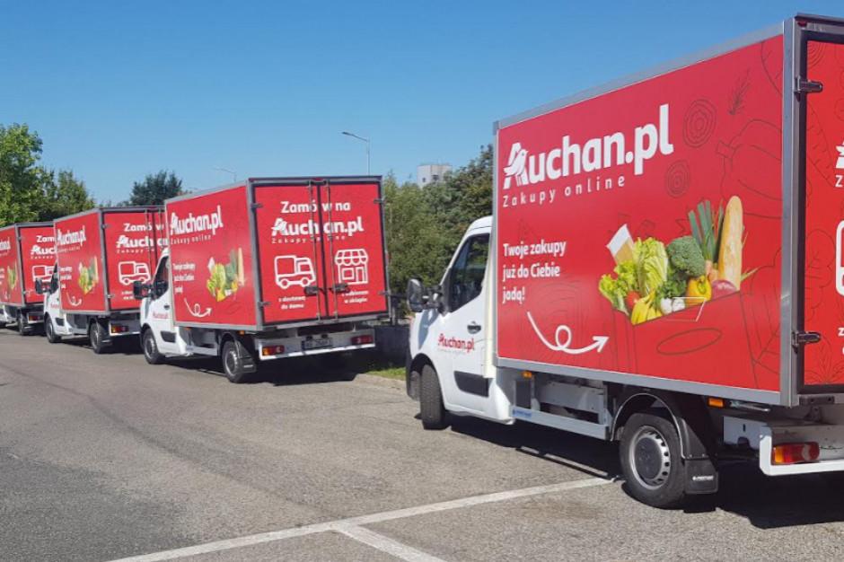 Auchan wchodzi z e-sklepem do Krakowa