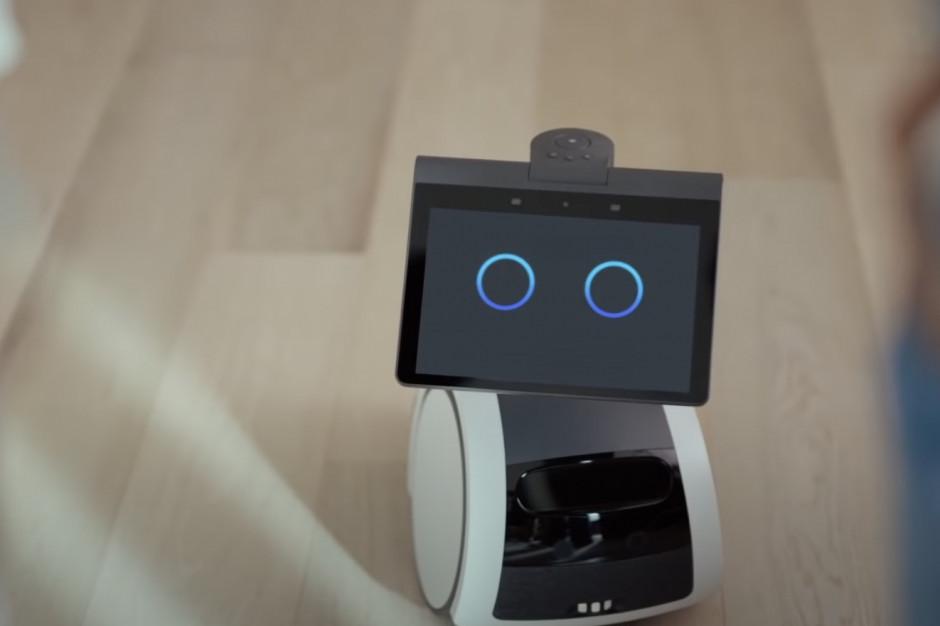 Amazon opracował psa-robota. Robi urocze miny i patroluje dom