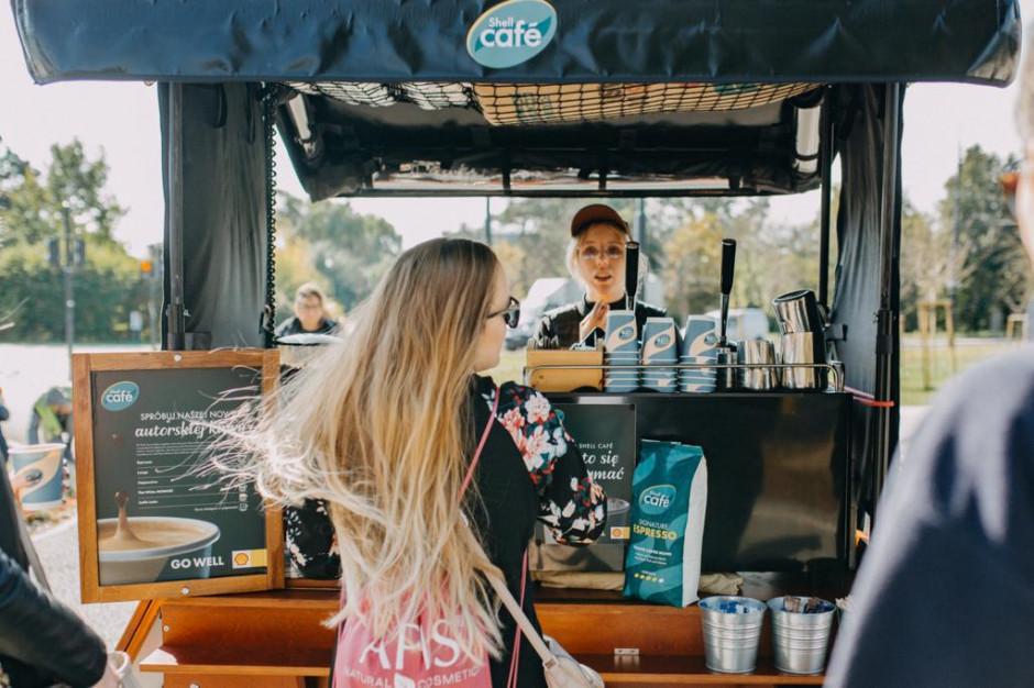 Nowy pomysł Shell: coffee bike'i z okazji Tygodnia Kawy