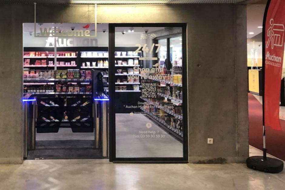 Sklep bez kas Auchan Go stanął na terenie kampusu studenckiego