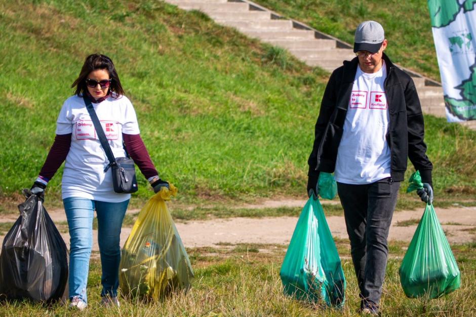Wolontariusze Kauflandu we wspólnej akcji z Fundacją Nasza Ziemia