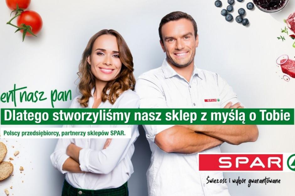SPAR rozpoczął kampanię wizerunkową pod hasłem Klient nasz pan