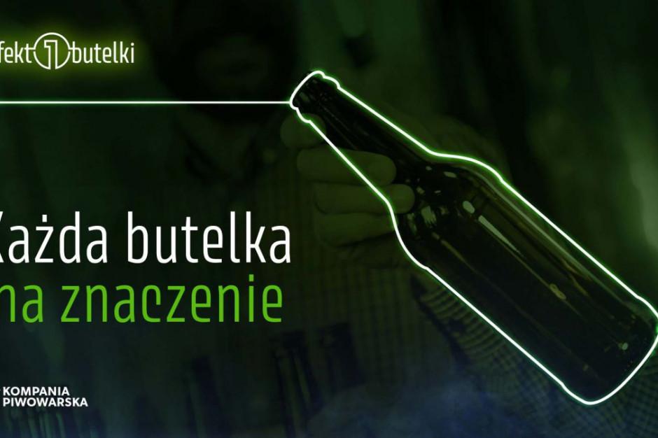 Kompania Piwowarska zachęca do oddawania szklanych butelek