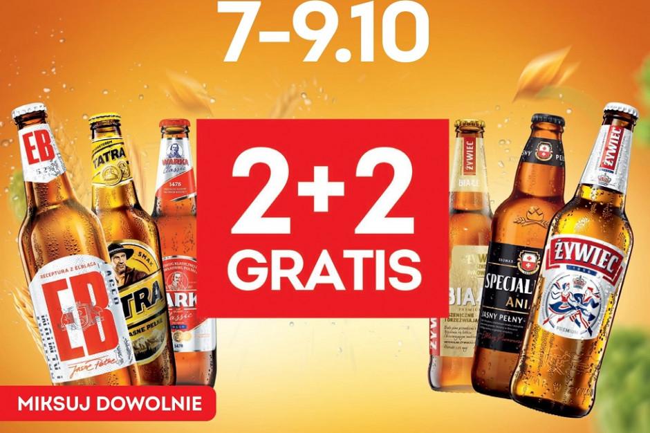 """Weekendowa """"Bromocja 2+2"""", czyli gratisowe piwa w Żabce"""