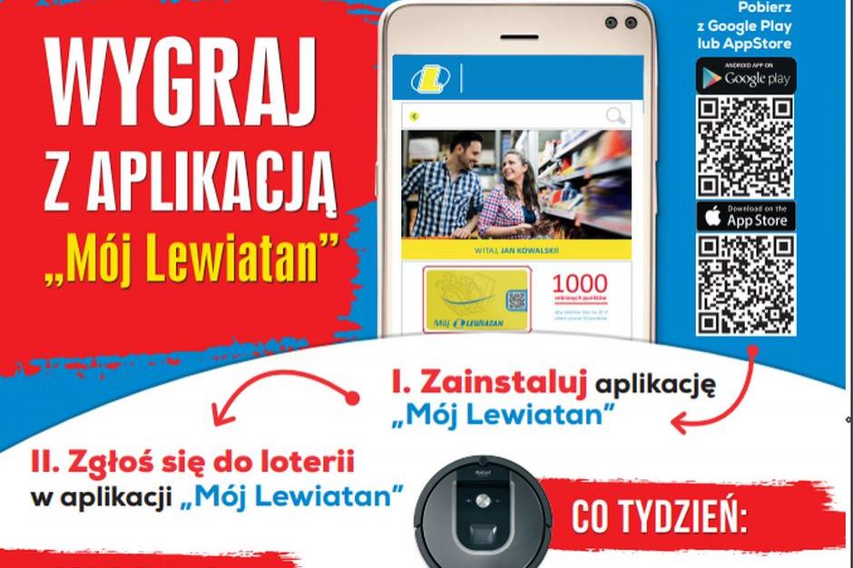 Lewiatan w loterii zachęca do korzystania z aplikacji