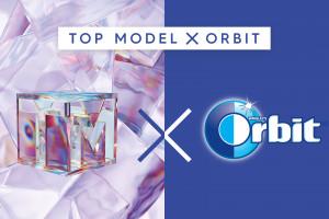 Gumy Orbit w programie Top Model, fot. mat. pras.
