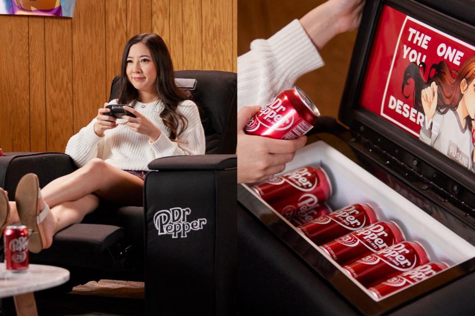 Firma Dr Pepper stworzyła fotel z ...lodówką
