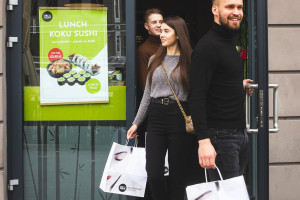 KOKU Sushi liczy 43 punkty w całej Polsce, fot. mat. pras.