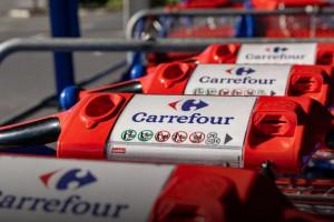 Carrefour w Belgii ma problemy z logistyką, fot. Shutterstock