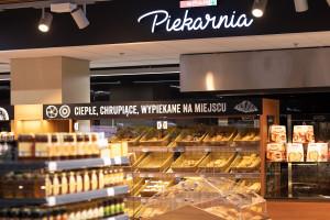 Sklep Eurospar w warszawskiem centrum handlowym Blue City, fot. materiały prasowe