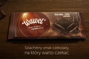fot, nowa kampania czekolad Wawel