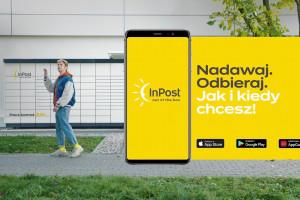 InPost zachęca do korzystania z aplikacji, fot. mat. pras.