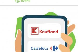 Everli to platforma służąca do zakupów spożywczych online; fot. za everli.com