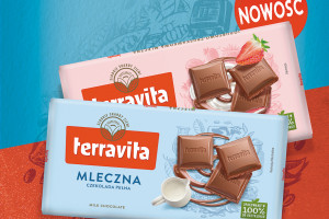 Terravita z kampanią promującą czekolady z linii Classic, fot. mat. pras.