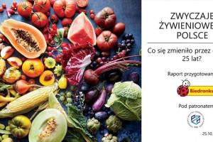 Raport IPSOS dla Biedronki o nawykach żywieniowych Polaków ujrzał światło dzienne; fot. materiały prasowe