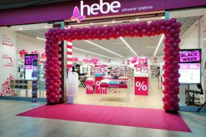 W samym III kwartale sprzedaż Hebe wzrosła o 11,6 proc., fot. mat. pras.